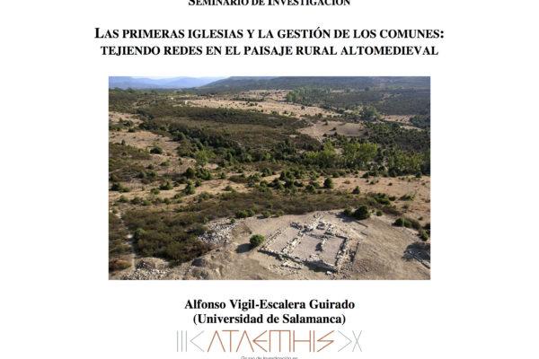 """El grupo ATAEMHIS organiza el seminario de investigación """"Las primeras iglesias y la gestión de los comunes"""" en el programa de doctorado de la USAL"""