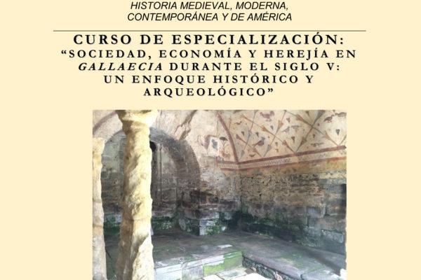 """Charla Rebecca A. Devlin: """"Sociedad, economía y herejía en Gallaecia durante el siglo V: Un enfoque histórico y arqueológico"""""""
