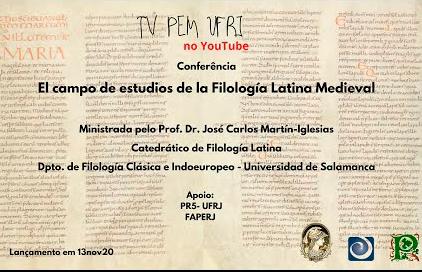 """""""El campo de estudios de la Filología Latina Medieval"""", conferencia impartida por José Carlos Martín Iglesias"""