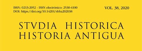 Ya está disponible el nuevo número de Studia Historica. Historia Antigua.
